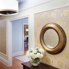 Contemporary Entry by Beckenstein Fabric and Interiors