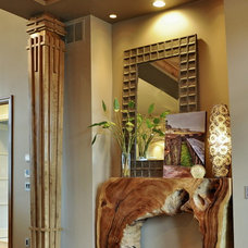 Eclectic Entry by Coffey & Co. House of Interiors