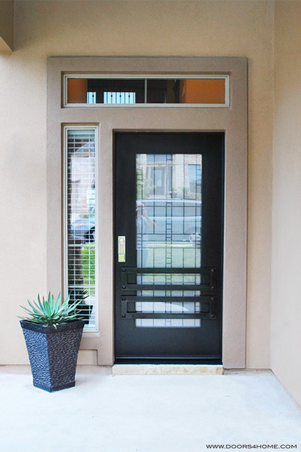Contemporary Entry by Doors4Home