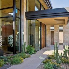 Contemporary Entry by Elizabeth A Rosensteel Design Studio