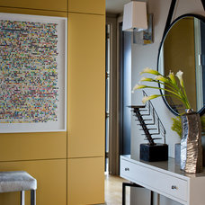 Contemporary Entry by Terrat Elms Interior Design
