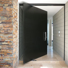 Contemporary Entry by Fenstermann LLC