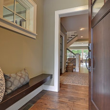 Contemporary Entry by Highmark Builders