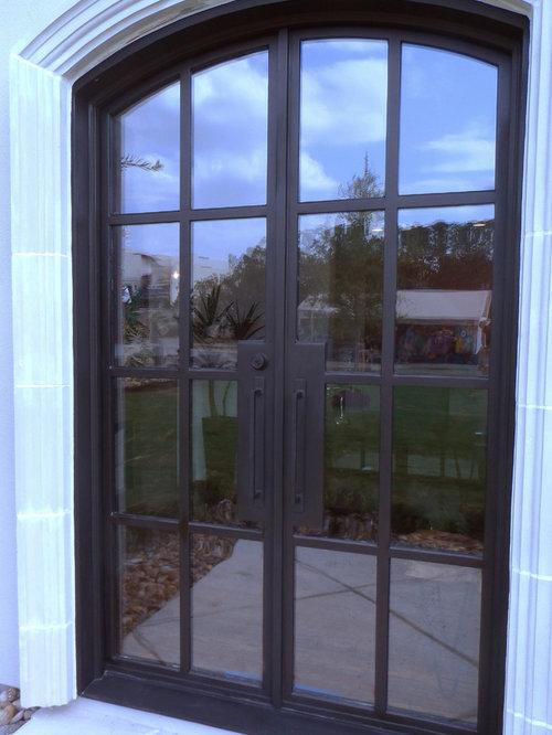Contemporary Modern Iron Doors