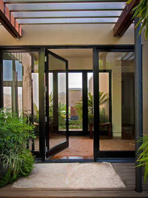 Modern french doors home design ideas pictures remodel - Contemporary glass doors interior ...