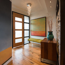 Contemporary Entry by Radiant Homes
