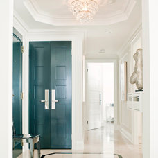 Contemporary Entry by Elizabeth Metcalfe Interiors & Design Inc.