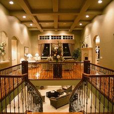 Contemporary Entry by Veranda Estate Homes & Interiors