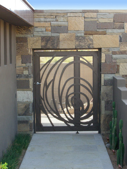 Give your garden a gate mate for Modern front gate design