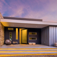 Contemporary Entry by Zone 4 Architects, LLC