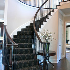 Traditional Entry by Traci Connell Interiors