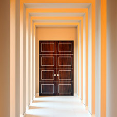 Contemporary Entry by Merlin Contracting & Developing, llc