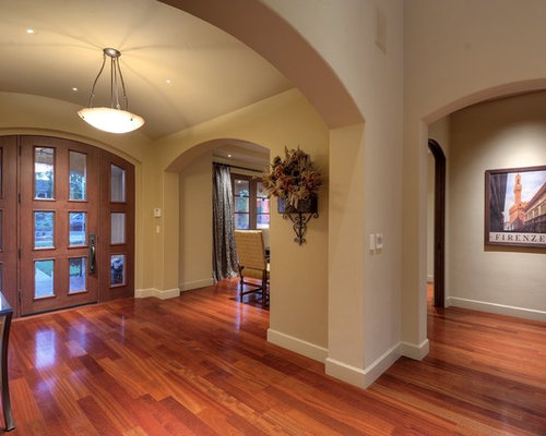 Cherry wood floors houzz for White hardwood floors design ideas