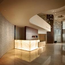 Contemporary Entry by Pepe Calderin Design- Modern Interior Design