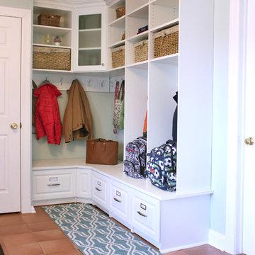 Corner Mud Room Lockers