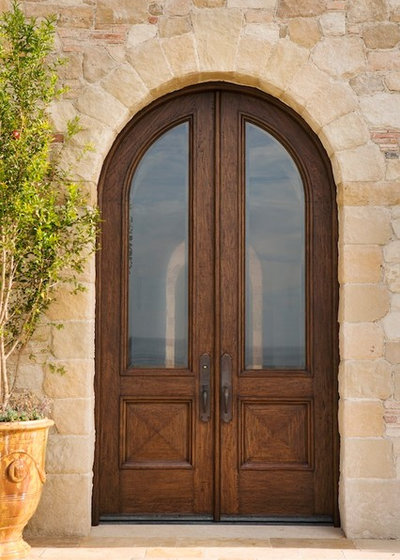 Genial Mediterranean Entry By Corbin Reeves Construction