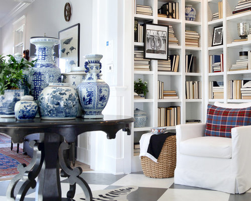 Decorating With Blue And White China: Blue And White Porcelain