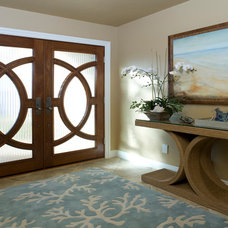 Tropical Entry by Coast to Coast Interiors