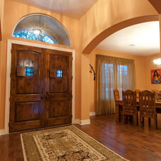 Traditional Entry by Nalle Custom Homes