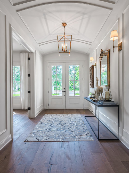 Transitional jacksonville entryway design ideas remodels for Transitional foyer ideas