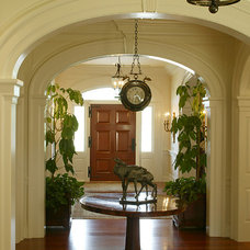 Traditional Entry by Bruce Palmer Interior Design