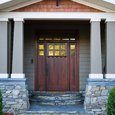 Traditional Entry by Tehama Homes
