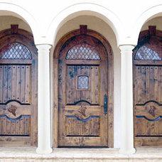Mediterranean Front Doors by Doors by Decora