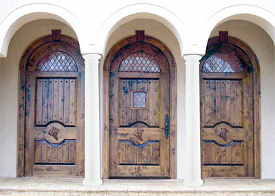 Country french doors for French country front door