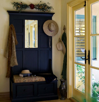Traditional Entry by Peg Berens Interior Design LLC