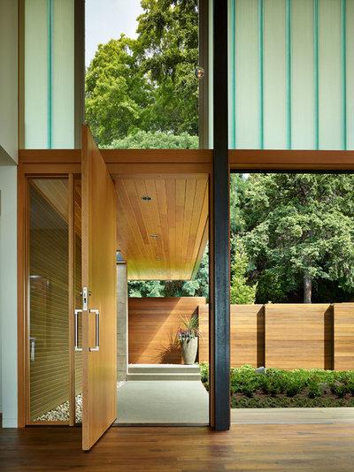 Contemporáneo Entrada by DeForest Architects