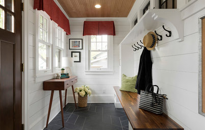 Minnesota Mudroom Addition Keeps Chaos Out of the Kitchen