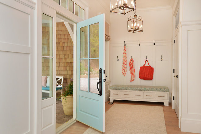 Beach Style Entry by Sunshine Coast Home Design