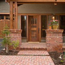 Traditional Entry by Homeland Design, llc