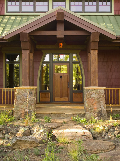 Craftsman Entryway Design Ideas Remodels Amp Photos