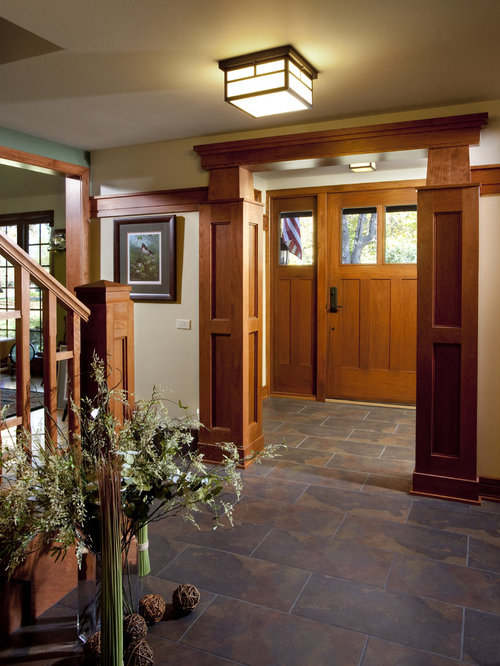 Best Craftsman Foyer Design Ideas Amp Remodel Pictures Houzz