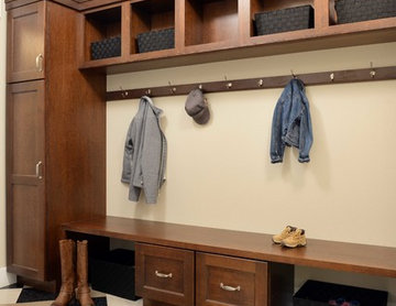 Craftsman Mudroom