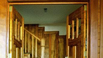 Craftsman Style Hillside Home