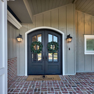 Craftsman Style Home Entry