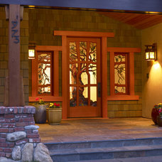 Craftsman Entry by James Witt Homes