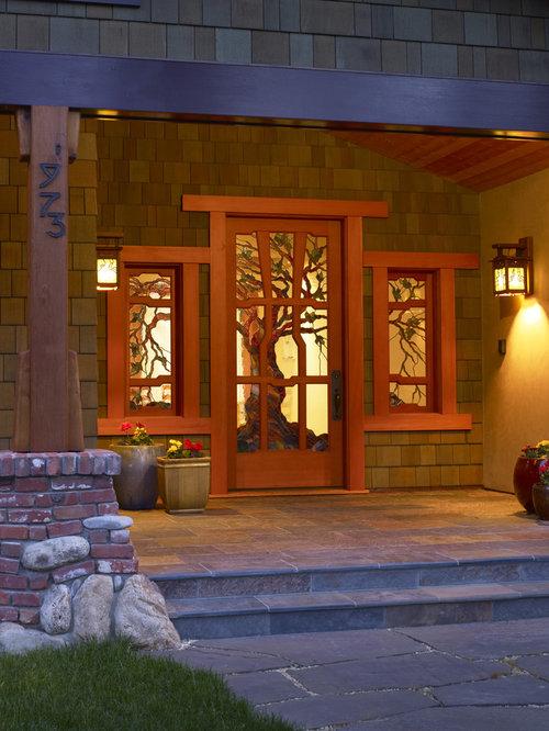 Craftsman Style Front Door Houzz