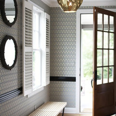 contemporary entry by Heather Garrett Design
