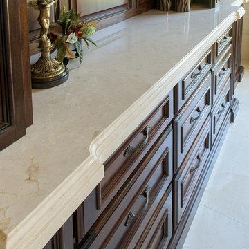 Crema Marfil floors