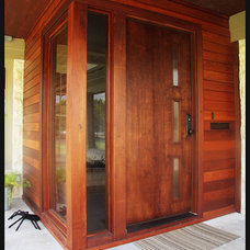 Modern Entry by crestviewdoors