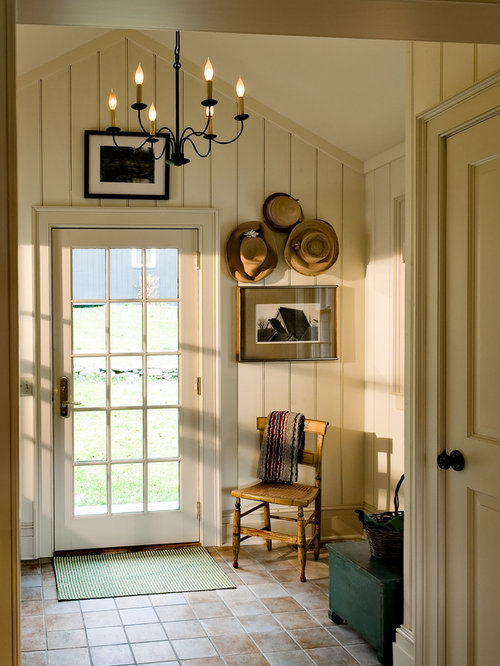 Country foyer ideas pictures remodel and decor for Back door entrance