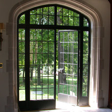 Contemporary Entry by Steel Windows and Doors USA