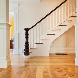 Curly Birch Plank Floors - Newburyport, Massachusetts