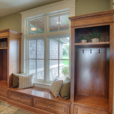 Traditional Entry by Designed Cabinets