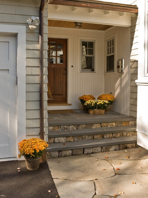 Stone Step Front Porch Home Design Ideas Pictures