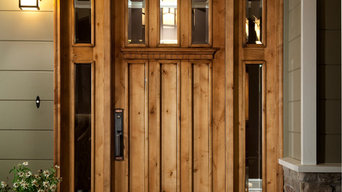 Custom Craftsman Entry Door