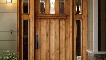 Custom Craftsman Entry Door